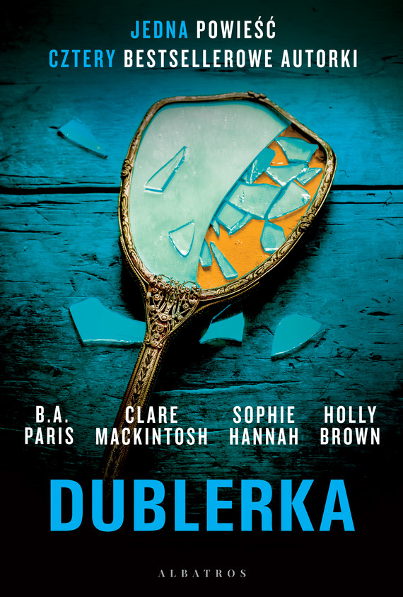 okładka DUBLERKA, Ebook | Sophie Hannah, Clare Mackintosh, B.A. Paris, Holly Brown
