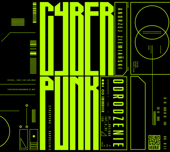 okładka Cyberpunk. Odrodzenieaudiobook | MP3 | Andrzej Ziemiański