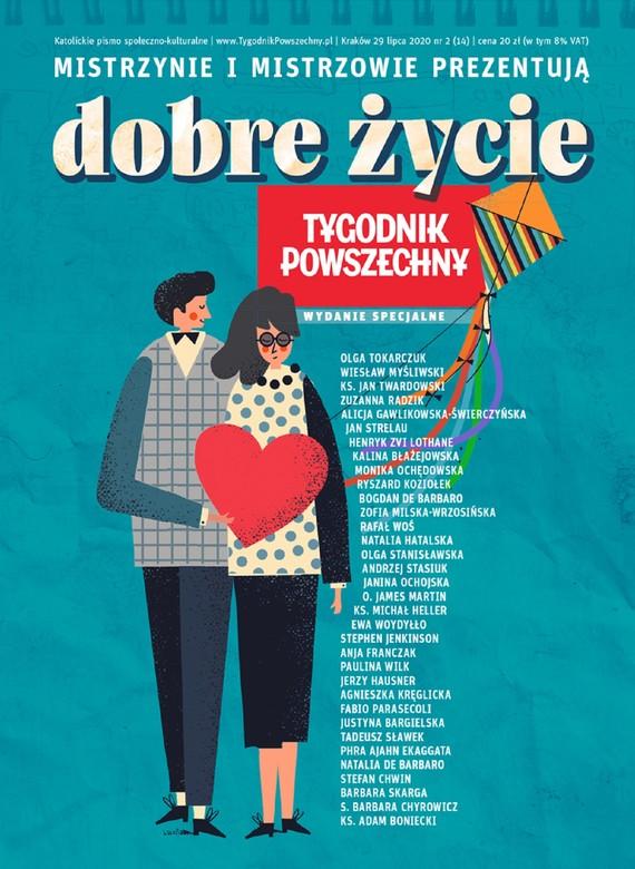 okładka Tygodnik Powszechny - Wydanie Specjalne Dobre życie, Ebook   Opracowanie zbiorowe