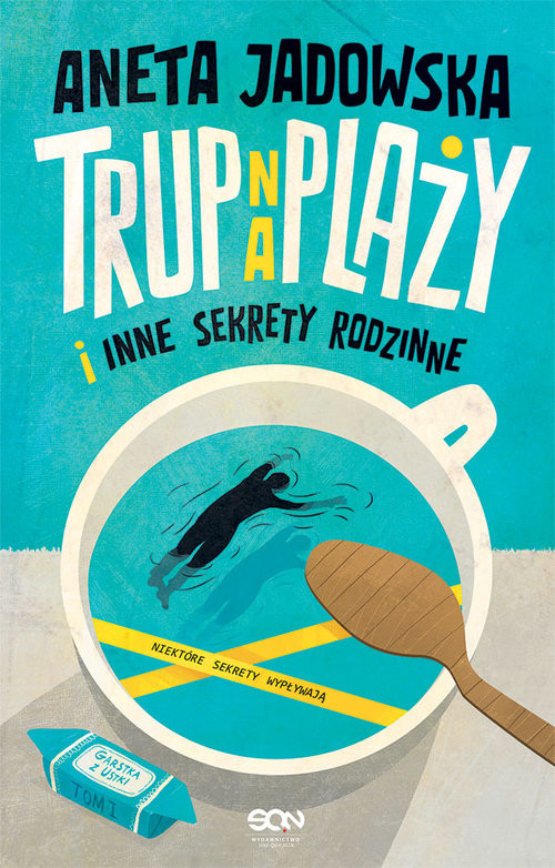 okładka Trup na plaży. Wielkie Litery, Książka | Aneta Jadowska