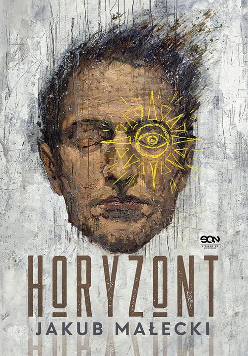 okładka Horyzont Wielkie Litery, Książka | Jakub Małecki