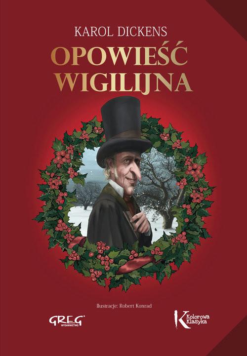 okładka Opowieść wigilijna, Książka   Karol  Dickens