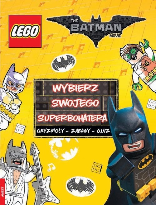 okładka Lego Batman Movie. Wybierz swojego superbohatera. LYS-450książka |  |