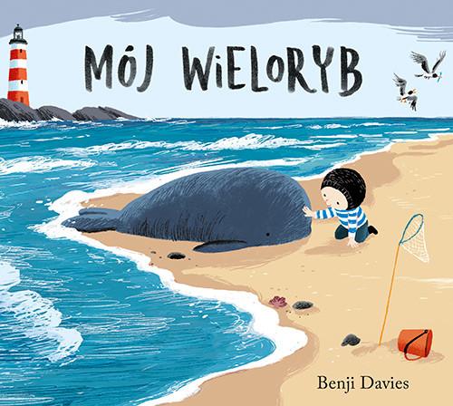okładka Mój wieloryb, Książka   Davies Benji
