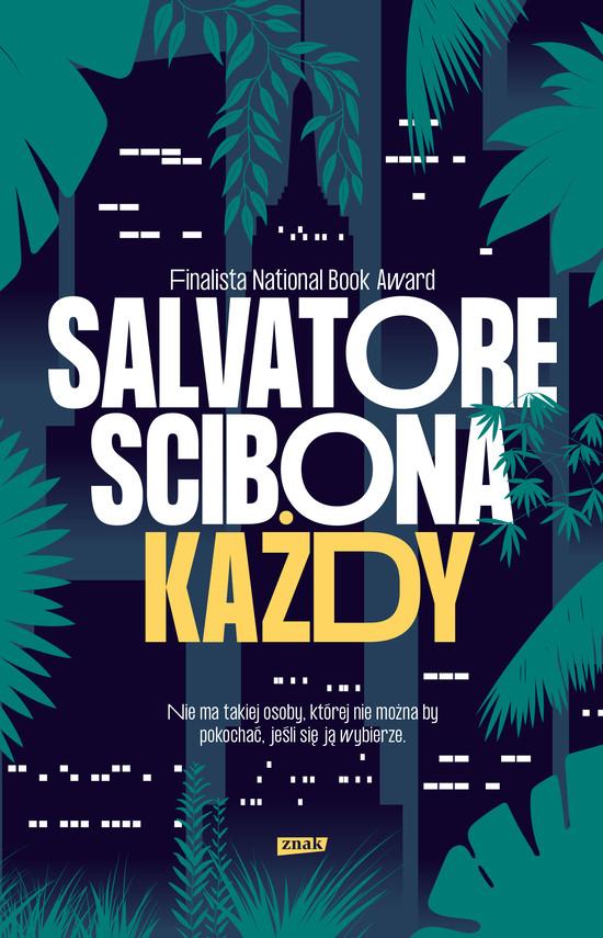 okładka Każdy, Ebook | Salvatore Scibona