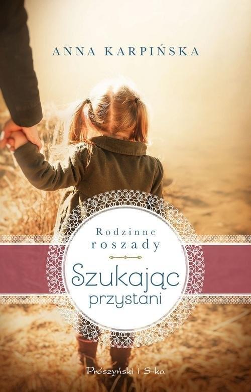 okładka Szukając przystani, Książka | Anna Karpińska