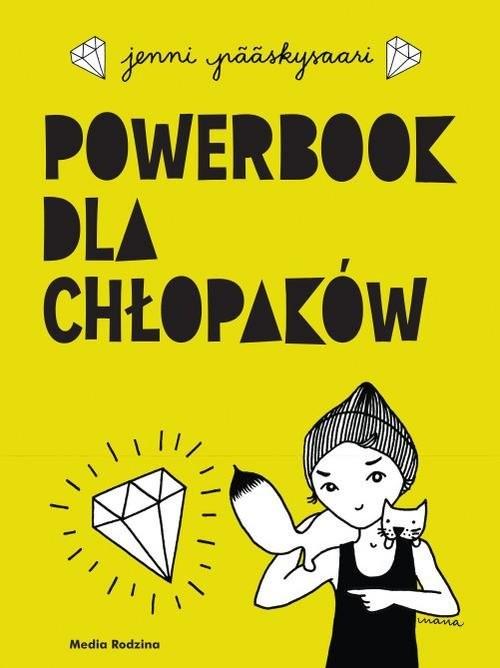 okładka Powerbook dla chłopaków, Książka | Pääskysaari Jenni