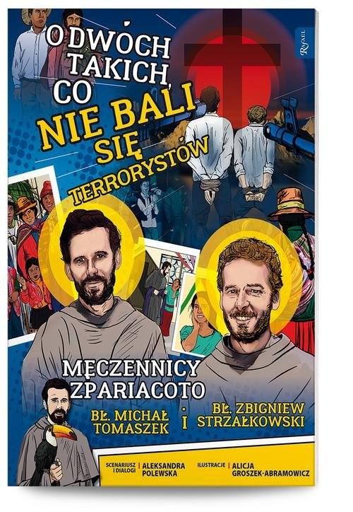 okładka O dwóch takich, co nie bali się terrorystów, Książka | Aleksandra Polewska