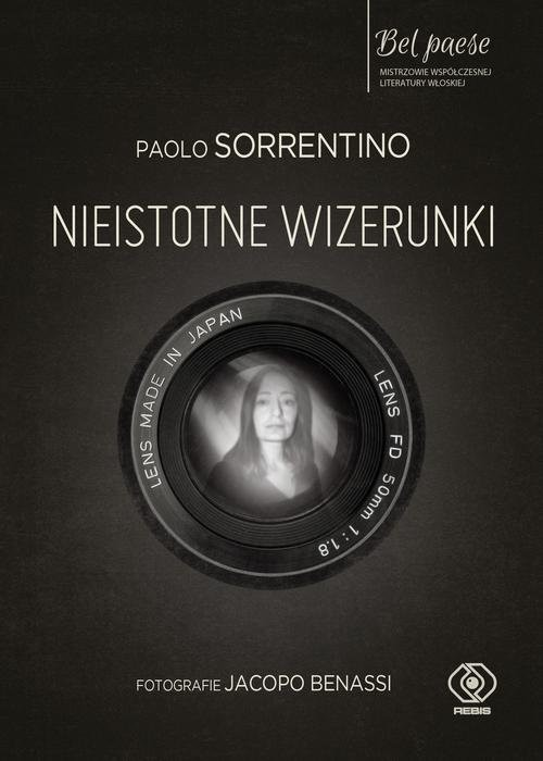 okładka Nieistotne wizerunki, Książka | Paolo Sorrentino