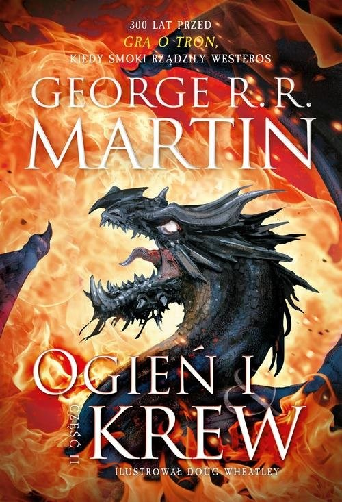 okładka Ogień i krew Część 2, Książka   George R.R. Martin