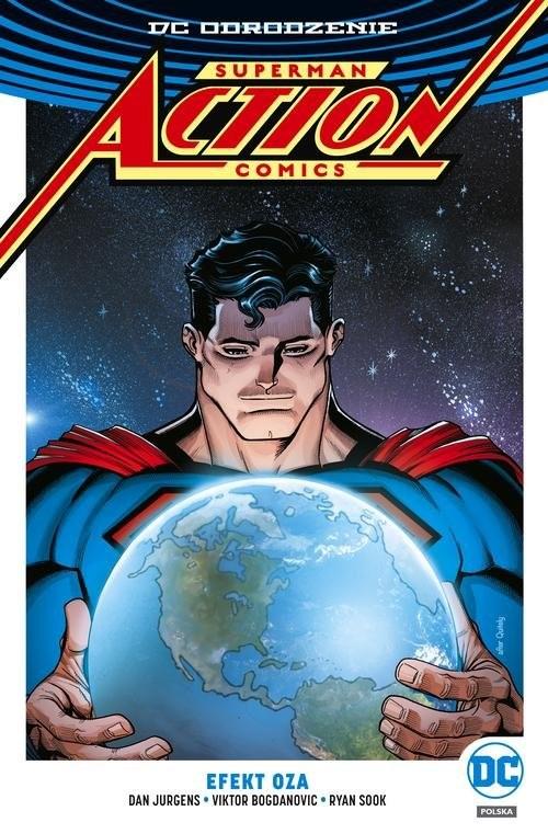 okładka Superman Action Comics Tom 5 Efekt Oza, Książka   Dan Jurgens, Rob Williams