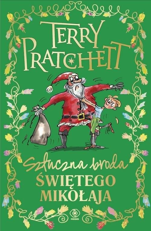 okładka Sztuczna broda Świętego Mikołaja, Książka   Terry Pratchett