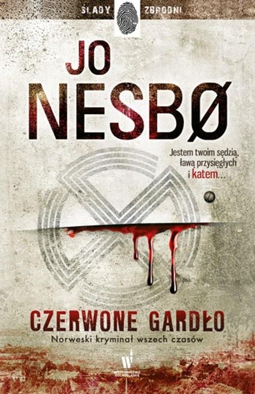 okładka Czerwone Gardło, Książka | Jo Nesbo