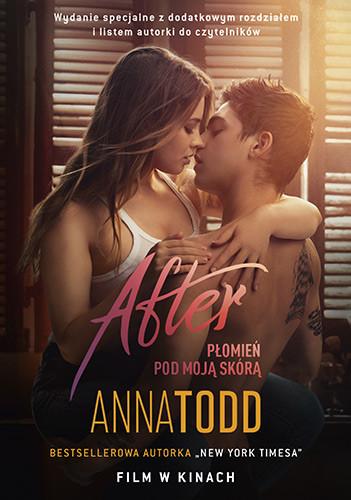 okładka After. Płomień pod moją skórą , Książka | Anna Todd