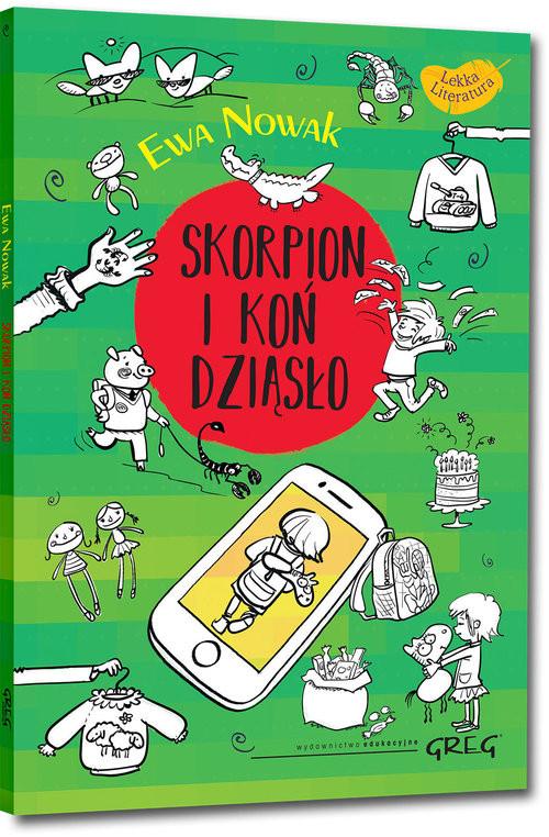 okładka Skorpion i koń Dziąsło, Książka | Ewa Nowak