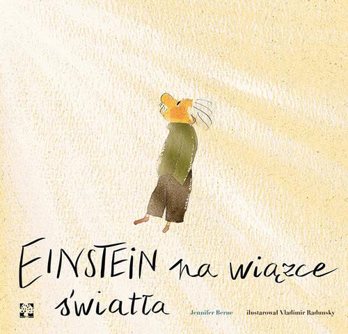 okładka Einstein na wiązce światła, Książka | Berne Jennifer