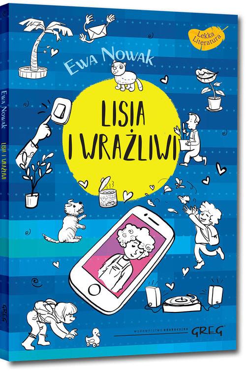 okładka Lisia i wrażliwi, Książka | Ewa Nowak