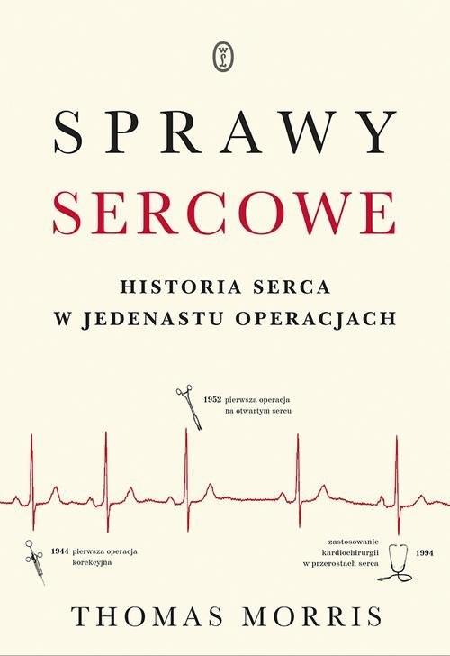 okładka Sprawy sercowe Historia serca w jedenastu operacjachksiążka |  | Morris Thomas