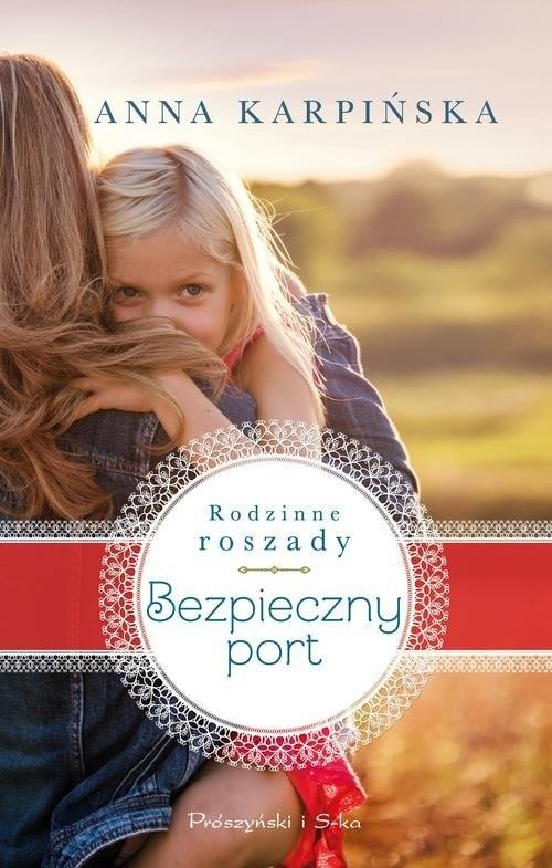 okładka Bezpieczny port, Książka | Anna Karpińska