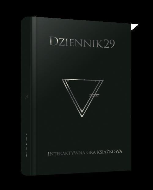 okładka Dziennik 29, Książka | Chassapakis Dimitris