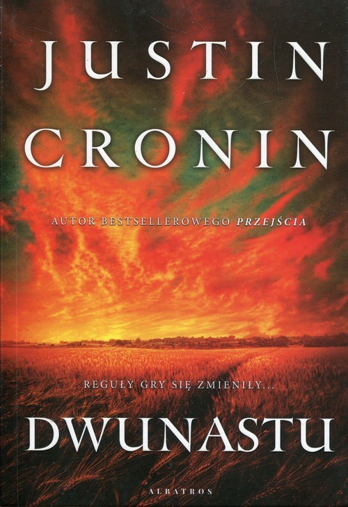 okładka Dwunastu, Książka | Justin Cronin