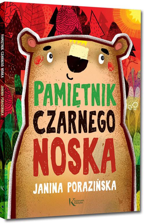okładka Pamiętnik Czarnego Noska, Książka | Janina Porazińska