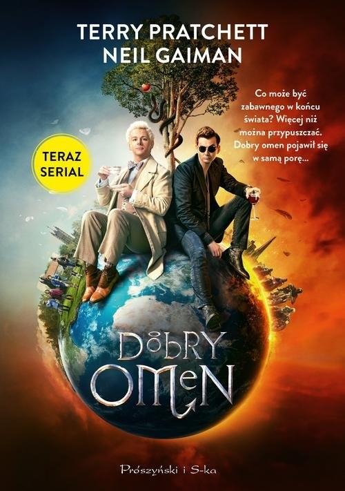 okładka Dobry omen, Książka   Neil Gaiman, Terry Pratchett