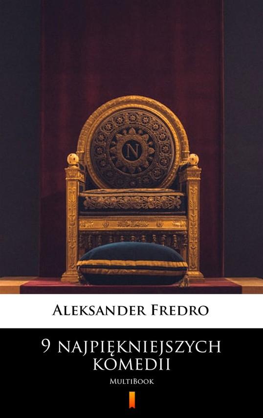 okładka 9 najpiękniejszych komediiebook | epub, mobi | Aleksander Fredro
