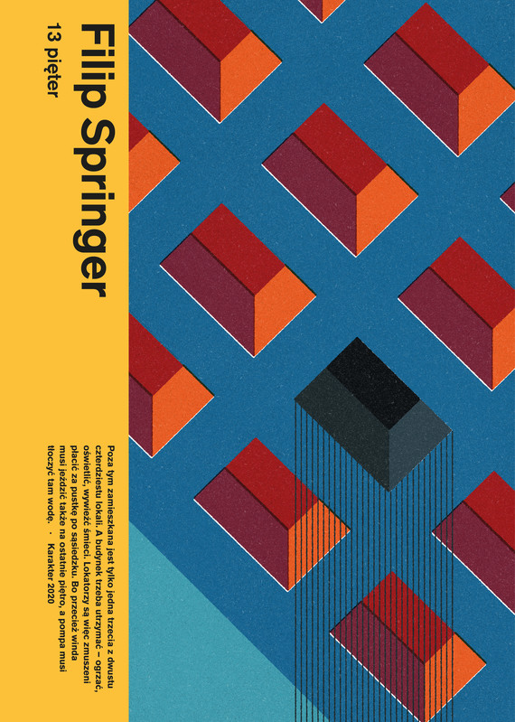 okładka 13 pięter, Ebook | Filip Springer