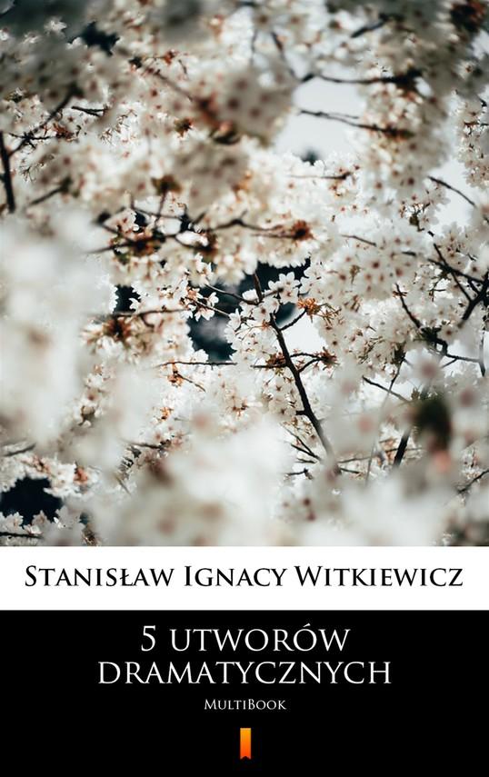 okładka 5 utworów dramatycznychebook | epub, mobi | Stanisław Ignacy Witkiewicz