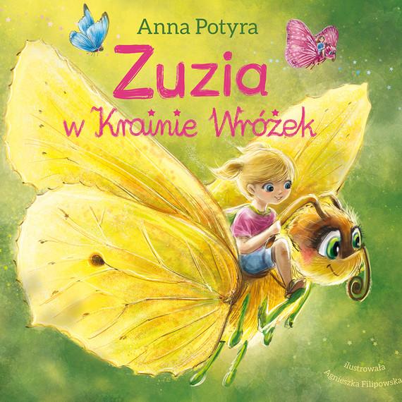 okładka Zuzia w krainie wróżek (audiobook), Audiobook | Anna Potyra