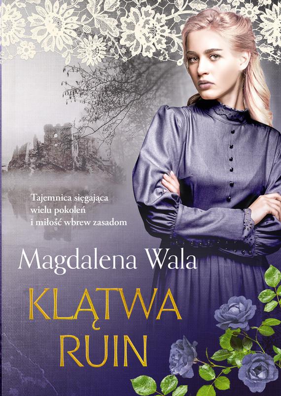 okładka Klątwa ruinebook | epub, mobi | Magdalena Wala