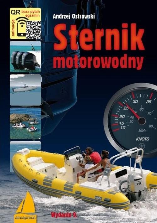 okładka Sternik motorowodny, Książka   Ostrowski Andrzej