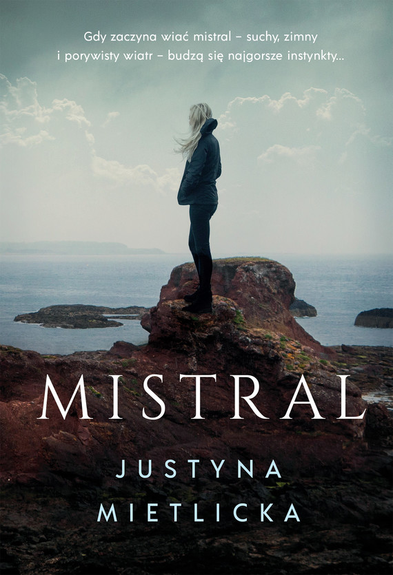 okładka Mistral, Ebook   Justyna Mietlicka