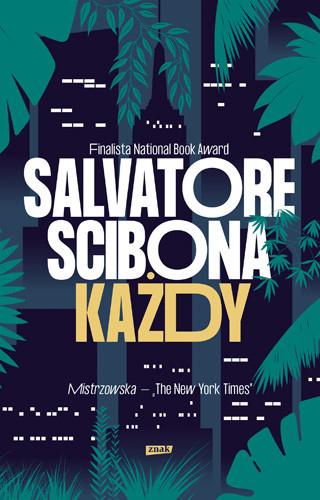 okładka Każdy, Książka | Salvatore Scibona