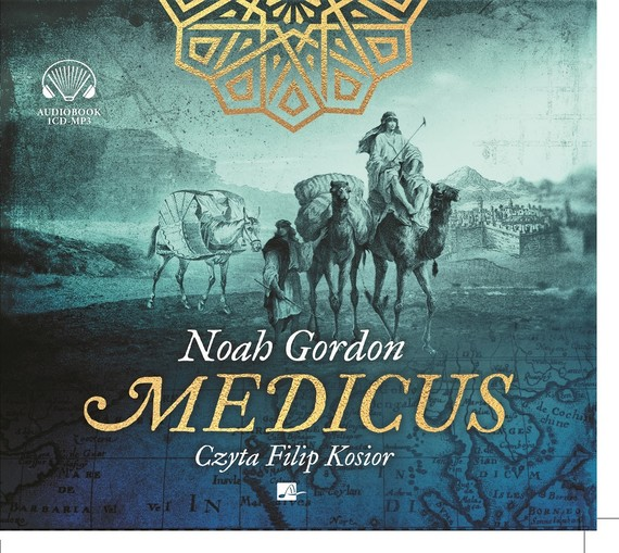 okładka Medicusaudiobook | MP3 | Noah Gordon