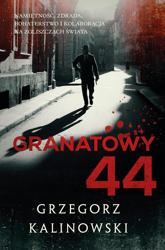 okładka Granatowy 44ebook   epub, mobi   Grzegorz Kalinowski