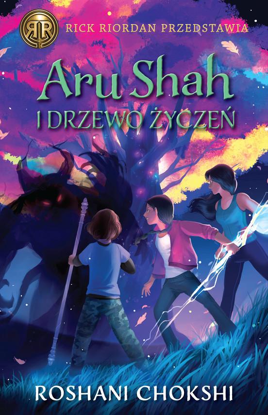 okładka Aru Shah i Drzewo Życzeńebook | epub, mobi | Roshani Chokshi