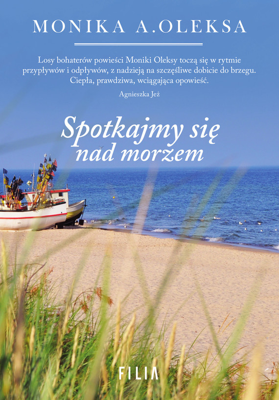 okładka Spotkajmy się nad morzem, Ebook | Monika A. Oleksa