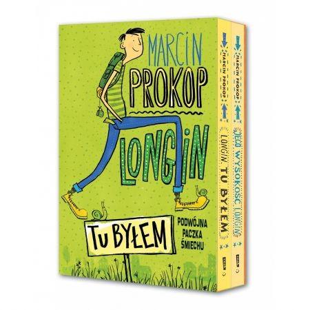 okładka Tu byłem + Jego wysokość Longin - pakiet, Książka   Marcin Prokop