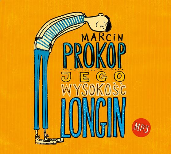 okładka Jego Wysokość Longin - audio, Książka   Marcin Prokop