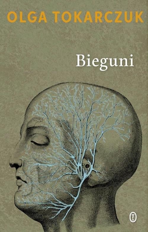 okładka Bieguni, Książka   Olga Tokarczuk