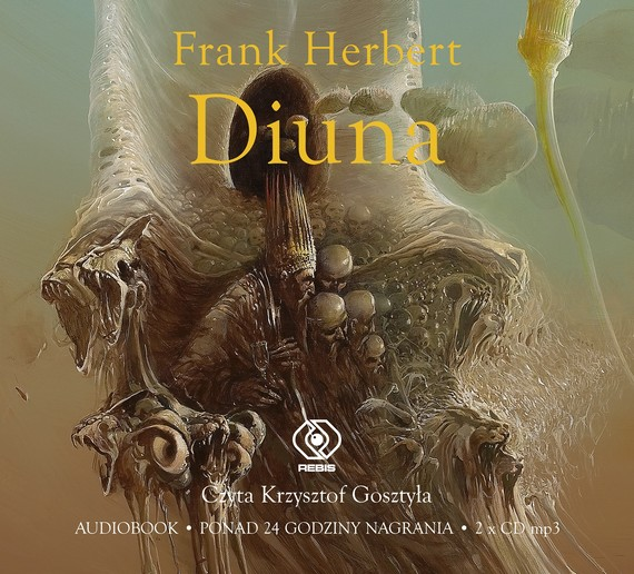 okładka Diunaaudiobook | MP3 | Frank Herbert