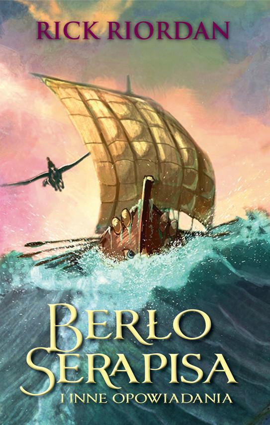 okładka Berło Serapisa i inne opowiadaniaebook | epub, mobi | Rick Riordan