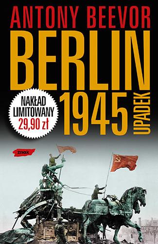 okładka Berlin 1945. Upadek, Książka | Antony Beevor
