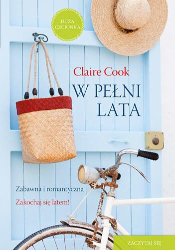 okładka W pełni lata , Książka   Cook Claire