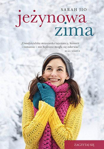 okładka Jeżynowa zima, Książka   Sarah Jio