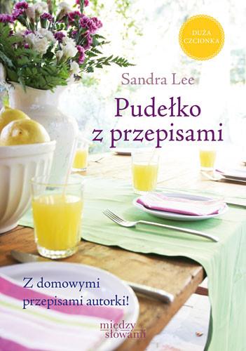 okładka Pudełko z przepisami książka      Sandra Lee