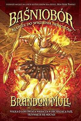 okładka Baśniobór. Klucze do więzienia demonów książka |  | Brandon Mull