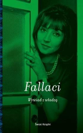 okładka Wywiad z władząksiążka      Oriana Fallaci